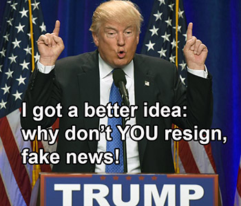 Why Trump Can't Resign